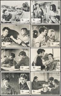 "The Last Picture Show (Columbia, 1971). Lobby Card Set of 8 (11"" X 14""). Drama. ... (Total: 8 Items)"