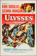 "Movie Posters:Adventure, Ulysses (Paramount, 1955). One Sheet (27"" X 41""). Adventure.. ..."