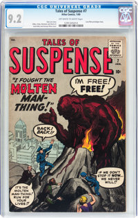 Tales of Suspense #7 (Marvel, 1960) CGC NM- 9.2 Off-white to white pages