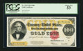 Large Size:Gold Certificates, Fr. 1215 $100 1922 Gold Certificate PCGS About New 53.. ...