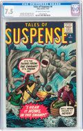Silver Age (1956-1969):Horror, Tales of Suspense #6 (Marvel, 1959) CGC VF- 7.5 Off-white to whitepages....