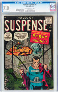Silver Age (1956-1969):Science Fiction, Tales of Suspense #2 (Marvel, 1959) CGC FN/VF 7.0 Off-white towhite pages....