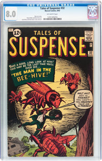 Tales of Suspense #32 (Marvel, 1962) CGC VF 8.0 Off-white pages