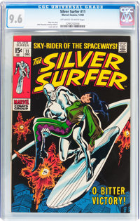 The Silver Surfer #11 (Marvel, 1969) CGC NM+ 9.6 Off-white to white pages