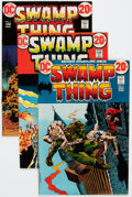 Bronze Age (1970-1979):Horror, Swamp Thing Group (DC, 1972-79) Condition: Average VF/NM....(Total: 21 Comic Books)