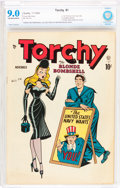 Golden Age (1938-1955):Miscellaneous, Torchy #1 (Quality, 1949) CBCS VF/NM 9.0 Off-white to white pages....