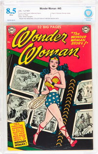 Wonder Woman #45 (DC, 1951) CBCS VF+ 8.5 White pages