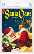 Golden Age (1938-1955):Miscellaneous, Four Color #525 Santa Claus Funnies (Dell, 1953) CBCS NM- 9.2 Off-white to white pages....