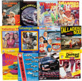 Miscellaneous Collectibles:General, 1970-2000 Talladega 500 Programs Lot of 34....