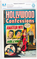 Golden Age (1938-1955):Crime, Hollywood Confessions #1 Windy City pedigree (St. John, 1949) CBCS VF+ 8.5 Off-white to white pages....