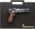 Handguns:Semiautomatic Pistol, Cased FN Belgian Browning Hi-Power Semi-Automatic Pistol....