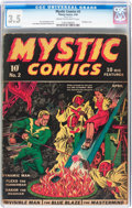 Golden Age (1938-1955):Superhero, Mystic Comics #2 (Timely, 1940) CGC VG- 3.5 Cream to off-white pages....