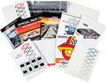 Miscellaneous Collectibles:General, 1970s-90s Indianapolis 500 Press Kits Lot....