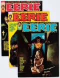 Magazines:Horror, Eerie Group (Warren, 1973-81) Condition: Average VF/NM.... (Total: 38 Comic Books)