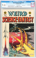 Golden Age (1938-1955):Science Fiction, Weird Science-Fantasy #28 Gaines File pedigree 7/12 (EC, 1955) CGCNM+ 9.6 Off-white pages....