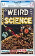 Golden Age (1938-1955):Science Fiction, Weird Science #11 Gaines File pedigree 8/12 (EC, 1952) CGC NM 9.4Off-white to white pages....