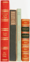 Books:Literature Pre-1900, [Literature]. Group of Four Books. Various publisher's and dates.... (Total: 4 Items)