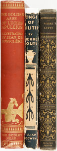 Books:Literature Pre-1900, [Greek Literature]. Group of Three Books. Various publisher's anddates. ... (Total: 3 Items)