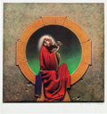 Music Memorabilia:Posters, Grateful Dead Blues For Allah Artwork Print Signed by Philip Garris....