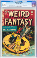Golden Age (1938-1955):Science Fiction, Weird Fantasy #18 Gaines File pedigree 1/11 (EC, 1953) CGC NM 9.4 White pages....