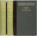 Books:Biography & Memoir, [Oscar Wilde]. Pair of Books on Oscar Wilde. Frank Harris. Oscar Wilde His Life and Confessions, Vols. I & II. N... (Total: 3 Items)