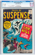 Silver Age (1956-1969):Horror, Tales of Suspense #12 (Marvel, 1960) CGC FN/VF 7.0 Off-white towhite pages....
