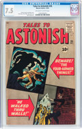 Silver Age (1956-1969):Horror, Tales to Astonish #26 (Marvel, 1961) CGC VF- 7.5 Off-white to white pages....