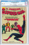 Silver Age (1956-1969):Superhero, The Amazing Spider-Man #10 (Marvel, 1964) CGC NM- 9.2 Off-whitepages....