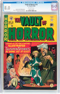 Golden Age (1938-1955):Horror, Vault of Horror #14 (EC, 1950) CGC VF 8.0 Off-white pages....