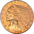 Indian Half Eagles, 1929 $5 MS62 PCGS....