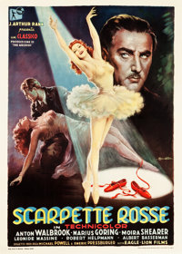 "The Red Shoes (Eagle Lion, 1949). Italian 2 - Foglio (39.25"" X 55"")"