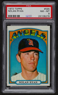 Baseball Cards:Singles (1970-Now), 1972 Topps Nolan Ryan #595 PSA NM-MT 8....