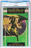 Modern Age (1980-Present):Superhero, Green Arrow: The Longbow Hunters #1 (DC, 1987) CGC NM/MT 9.8 White pages....