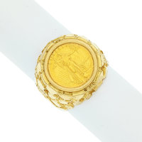 Gentleman's Gold Coin, Gold Ring