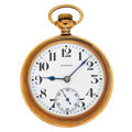 Timepieces:Pocket (post 1900), E. Howard Railroad Chronometer 21 Jewel Series 11 Pocket Watch. ...