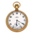 Timepieces:Pocket (post 1900), Ball 19 Jewels Series 999 Open Face Pocket Watch. ...