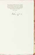 Books:Biography & Memoir, Arthur Symons. Confessions: A Study in Pathology. New York: The Fountain Press, 1930. Limited to 542 numbered co...