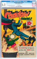 Golden Age (1938-1955):Miscellaneous, Shadow Comics V2#6 (Street & Smith, 1942) CGC FN+ 6.5 White pages....