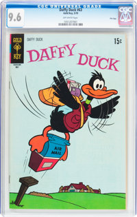 Daffy Duck #63 File Copy (Gold Key, 1970) CGC NM+ 9.6 Off-white pages