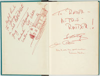 [Featured Lot]. [Thriller Novel]. SIGNED BY THE FILM CAST. Davis Grubb. The Night of the Hunter