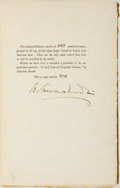 Books:Biography & Memoir, A. Edward Newton. SIGNED/LIMITED. Derby Day. And Other Adventures. Boston: Little, Brown, and Company, 1934. Lim...