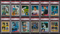 Baseball Cards:Lots, 1978 - 1985 Baseball Superstars and HoFers PSA Collection (12) -All Rookie Cards! ...