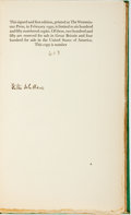 Books:Non-fiction, Walter de la Mare. SIGNED/LIMITED. Desert Islands and Robinson Crusoe. London: Faber & Faber Ltd., 1930. First Editi...