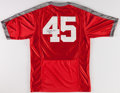 Football Collectibles:Uniforms, Archie Griffin Signed Ohio State Buckeyes Jersey....