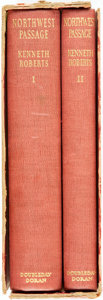 Books:Literature 1900-up, Kenneth Roberts. SIGNED/LIMITED. Northwest Passage. NewYork: Doubleday, Doran & Co., 1937. Two volume set. Limited ...(Total: 2 Items)