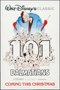 """Movie Posters:Animation, 101 Dalmatians & Other Lot (Buena Vista, R-1991). One Sheet (27"""" X 41"""") Advance & Regular. Animation.. ... (Total: 2 Items)"""