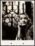 """Movie Posters:Drama, Marian Marsh in Crime and Punishment by A.L. Schafer (Columbia, 1935). Keybook Portrait Photo (8"""" X 11""""). Drama.. ..."""