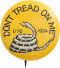 """Political:Pinback Buttons (1896-present), Robert LaFollette: A Classic 7/8"""" Rarity Supporting the Progressive Candidate in 1924...."""