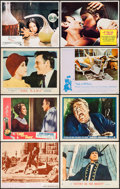 "Movie Posters:Crime, Bonnie and Clyde & Others Lot (Warner Brothers-Seven Arts,1967). Lobby Cards (16), Lobby Card Sets of 8 (4) (10.5"" X 14"",1... (Total: 48 Items)"