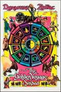 "Movie Posters:Fantasy, The Golden Voyage of Sinbad (Columbia, 1973). One Sheet (27"" X 41"")Dynarama Zodiac Advance Style. Fantasy.. ..."